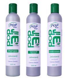 A linha KELMA POPKEL JABORANDI foi especialmente desenvolvida para a limpeza e revitalização de cabelos oleosos. A associação balanceada dos extratos e vitaminas nutre o bulbo capilar, tonifica o couro cabeludo e proporciona saúde aos cabelos.