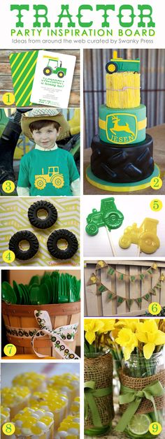 Tractor Party Inspiration