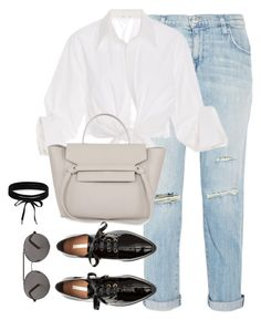 """Untitled #2994"" by theaverageauburn on Polyvore featuring Current/Elliott, Johanna Ortiz, H&M, Seafolly and Boohoo"