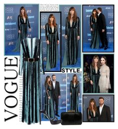 """""""2016 Critics Choice Awards~ Jessica Biel"""" by snugget9530 ❤ liked on Polyvore featuring Elie Saab"""