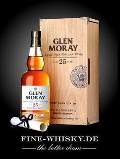 Glen Moray 25yo Port Cask Batch 2 Vintage 1987