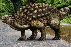 Ankylosaure : image de synthèse d'un ankylosaure sur L'Internaute Magazine