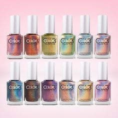 Color Club Holographics Gift Set (Full Collection)   Live Love Polish