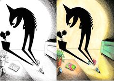 Desenho do Dia #28 - Criando um Mini-Monstro - Soraia Casal