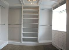 Custom Made Built In Closet