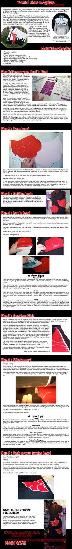 Tutorial: How to Applique by taeliac.deviantart.com on @DeviantArt