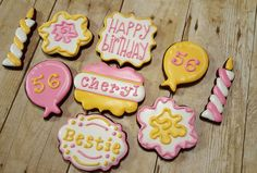 Birthday Cookies https://www.facebook.com/sweetcharleyconfections