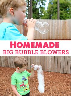 Family time on a dime on pinterest 174 pins for How to make a bubble blower from a water bottle