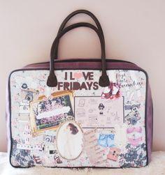 EL armario de Lulú - Maleta Fridays *Suitcase ♥ $159,9€