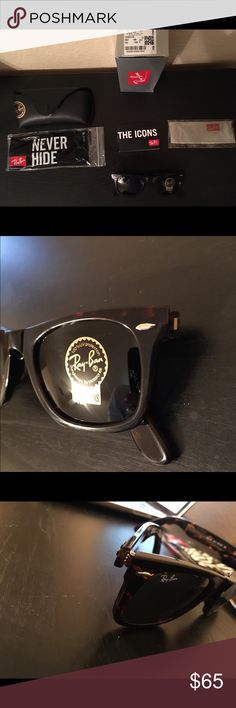wayfarer eyeglasses snapdeal new ray ban wayfarer rb2132 matte tortoise