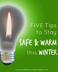 5 Tips to Stay Safe and Warm