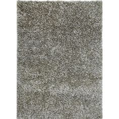 Tribeca Collection Shag Area Rug in Sterling Silver by Jaipur ($83) ❤ liked on Polyvore featuring home, rugs, shag rugs, pile rug, shag area rugs, hand knotted area rugs and hand-knotted rug