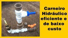 Conheça uma bomba hidraulica caseira eficiente, construída gastando muit...