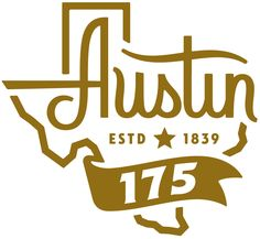 New Logo for City of Austin's 175th Anniversary by GSD&M
