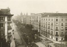 Calle Velazquez, década años 30.