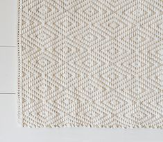 Vandra Diamond Twill Bath Rug
