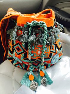 Beads and tassels on the drawstrings!