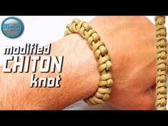 DIY Paracord Bracelet Modified Chiton Knot World Of Paracord How to make Paracord Bracelet Tutorial Paracord Bracelet Designs, Paracord Beads, Paracord Projects, Paracord Bracelets, Nut Bracelet, Bracelet Knots, Paracord Tutorial, Bracelet Tutorial, String Bracelet Patterns