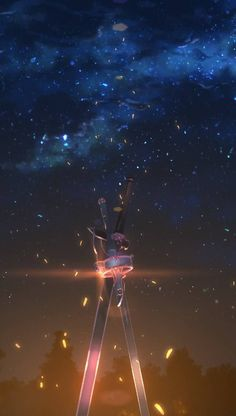 Kirito and asuna's sword anime sword art online sword mobi Otaku Anime, Manga Anime, Film Anime, Fanarts Anime, Schwertkunst Online, Arte Online, Online Anime, Kirito Sword Art Online, Espada Anime