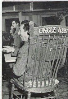 """Uncle Walt In His """"Uncle Walt"""" Chair! Love This! ❤️"""