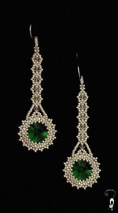 17 Outstanding Styles To Wear Beaded Tassel Earrings Bead Jewellery, Seed Bead Jewelry, Seed Bead Earrings, Diy Earrings, Seed Beads, Leaf Earrings, Beading Projects, Beading Tutorials, Beaded Jewelry Patterns