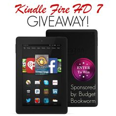 Enter to Win a Kindle Fire 7 HD 8 GB