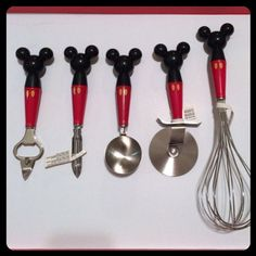 Pretty You By Me Accessories   Mickey Mouse Utensil Set