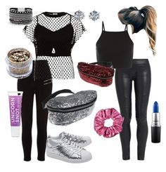 """""""How to wear a fanny pack"""" by sydneym0418 on Polyvore featuring River Island, The Row, MM6 Maison Margiela, In Your Dreams, adidas Originals, White House Black Market and MAC Cosmetics"""