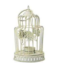 White birdcage tealight holder by Lisbeth Dahl Copenhagen Autumn/Winter 13. #LisbethDahlCph #Birdcage #Tealight