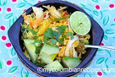 Chicken and Rice (Arroz con Pollo)   My Colombian Recipes
