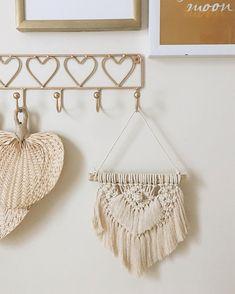 Mini macramé wall hangings