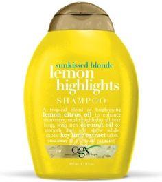Organix Lemon Highlights Shampoo 385 ml - Sarı Saçlar İçin Şampuan  Organix Ogx Sarı Saçlar İçin Renk Belirginleştirici Limon Özlü Saç Bakım Şampuanı Limon ve turuçgil özlerinden oluşan eşşiz saç bakım şampuanı ile saçlarınıza güneş ışıltısını kazandırın.