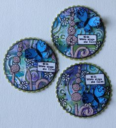 Diy And Crafts, Arts And Crafts, Paper Crafts, Art Trading Cards, Coin Art, Atc Cards, Art Journal Techniques, Candy Cards, Pocket Letters