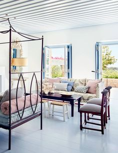 House Tour :: Refined & Relaxed Style in the Greek Islands | coco kelley | Bloglovin'