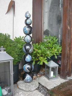 Wassertropfen-Stele