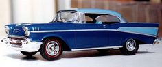 1957 Chevrolet Bel Air Hardtop by Steve Messner (AMT 1/25)
