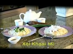 Xoi Khoai Mi - Xuan Hong - YouTube Vietnamese Cuisine, Orchid, Mexican, Ethnic Recipes, Youtube, Food, Vietnamese Food, Essen, Youtubers