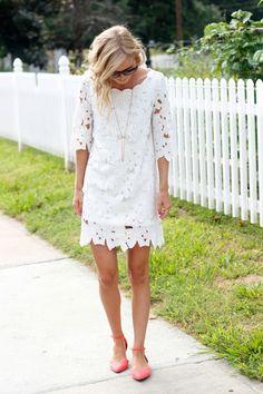 The Monogrammed Life: Fashion Friday: White Dress