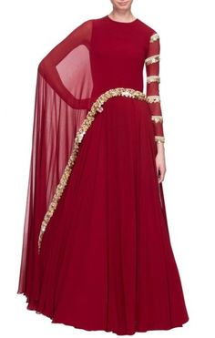Beautifull Hand Embroidered Bollywood Style Party Wear Cape Anarkali Dress Latest Stylish Indian Dre - Beautifull Hand Embroidered Bollywood Style Party Wear Cape Anarkali Dress Latest Stylish Indian Dre Source by etsy - Indian Gowns Dresses, Indian Fashion Dresses, Indian Designer Outfits, Pakistani Dresses, Indian Outfits, Fashion Outfits, Pakistani Sharara, Sabyasachi, Evening Dresses
