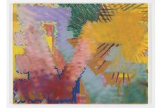 Keltie Ferris, A+R+G+O. , 2015 Acrylic and oil on canvas, 96x130 inches.
