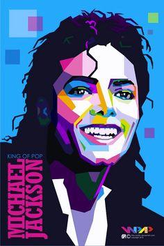 Artiste : P32n - Sujet : Michael Jackson - Website : 7zic.fr