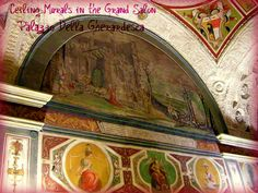 The frescos at the Palazzo_della_gherardesca - the then private mansion of the then Viceroy of Egypt, we were guest of.
