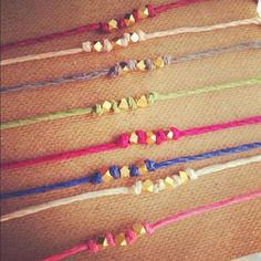 Idea for end-of-the-season gift? Use GOTR colors for beads