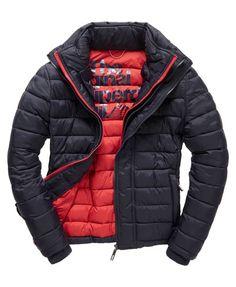 Superdry Fuji Triple Zip Through Jacket Superdry Jackets, Men's Jackets, Superdry Fashion, Sports Jacket, Quilted Jacket, Fuji, Bomber Jacket, Winter Jackets, Leather Jacket