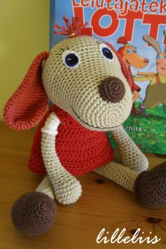 Free amigurumi pattern - Lotte Available in English and Dutch