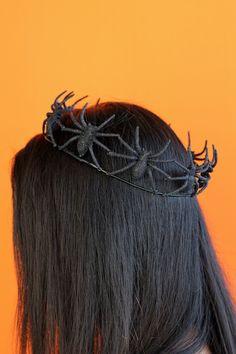 Easy Spider Crown TUTORIAL // Delia Creates
