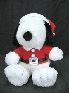 Hallmark Snoopy Santa Plush