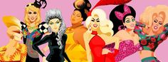All Miss Congeniality of Rupaul's Drag Race by Chad Sell