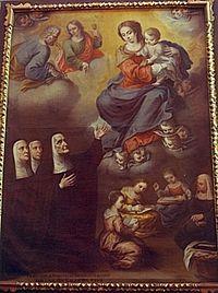 Saint Jeanne de Lestonnac  [photograph of statue of Saint JeanneAlso known as  Jane de Lestonnac Joan de Lestonnac