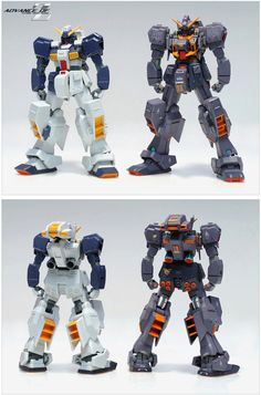 GUNDAM GUY: HGUC 1/144 RX-121-2A Gundam TR-1 Advanced Hazel - Customized Build